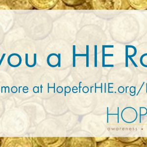 Become the HIE Roller – the first annual Hope for HIE Fundraising Competition