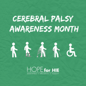 Cerebral Palsy Awareness Month