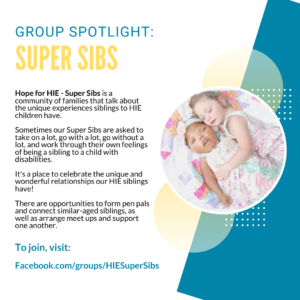 Super Sibs – Resources for Siblings